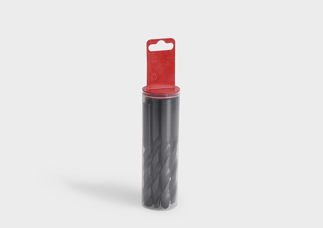 .DIY-Pack round tubes - packaging tube with hanging plug closures.
