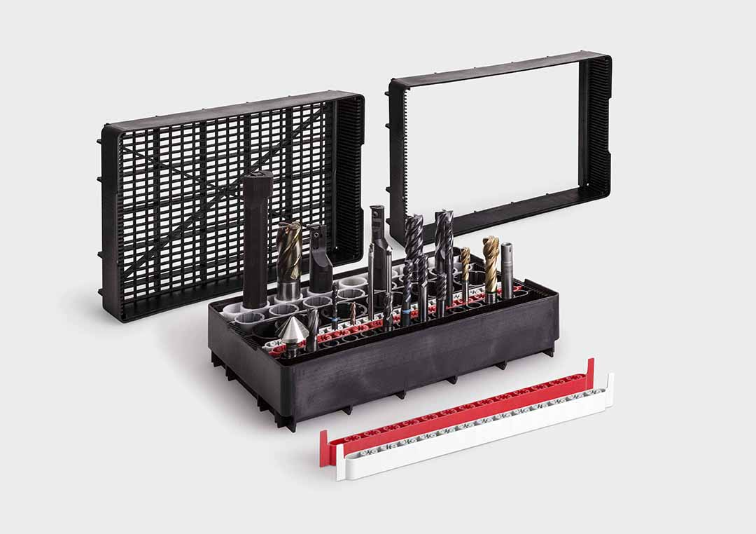 The SystemBoard lets you collect and transport cutting tools.