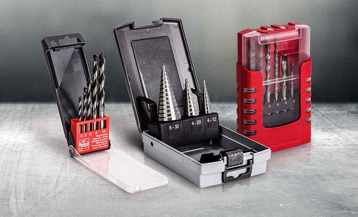 DIY cassettes for drilling tools by rose plastic.
